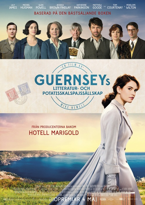 myfoodistry - traditional cooking and modern inspiration - imagine - feature films - The Guernsey Literary & Potato Peel Pie Society