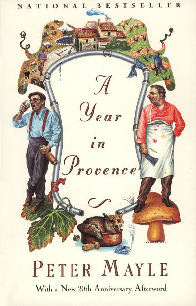 myfoodistry - traditional cooking and modern inspiration - a year in Provence book Peter Mayle